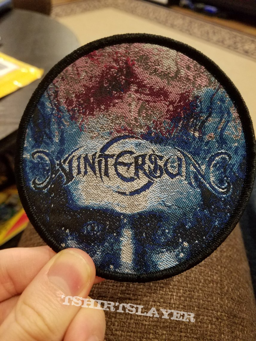 Wintersun - time woven patches