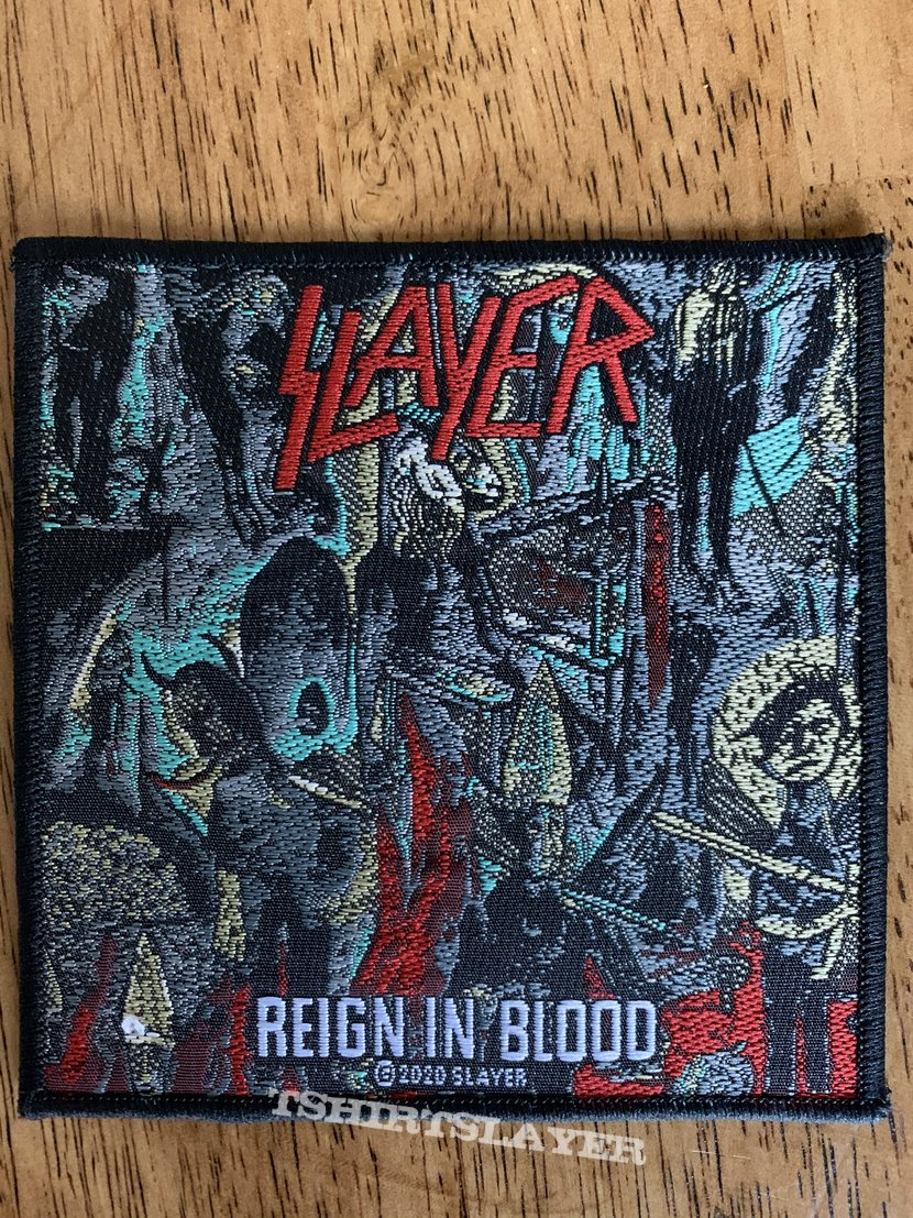Slayer - Reign in Blood 2020 Official Patch