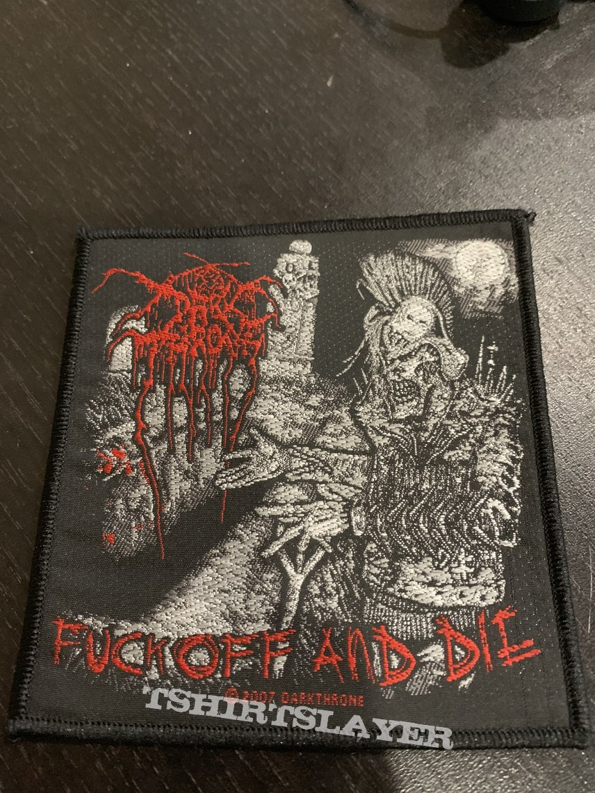 Darkthrone- FOAD patch