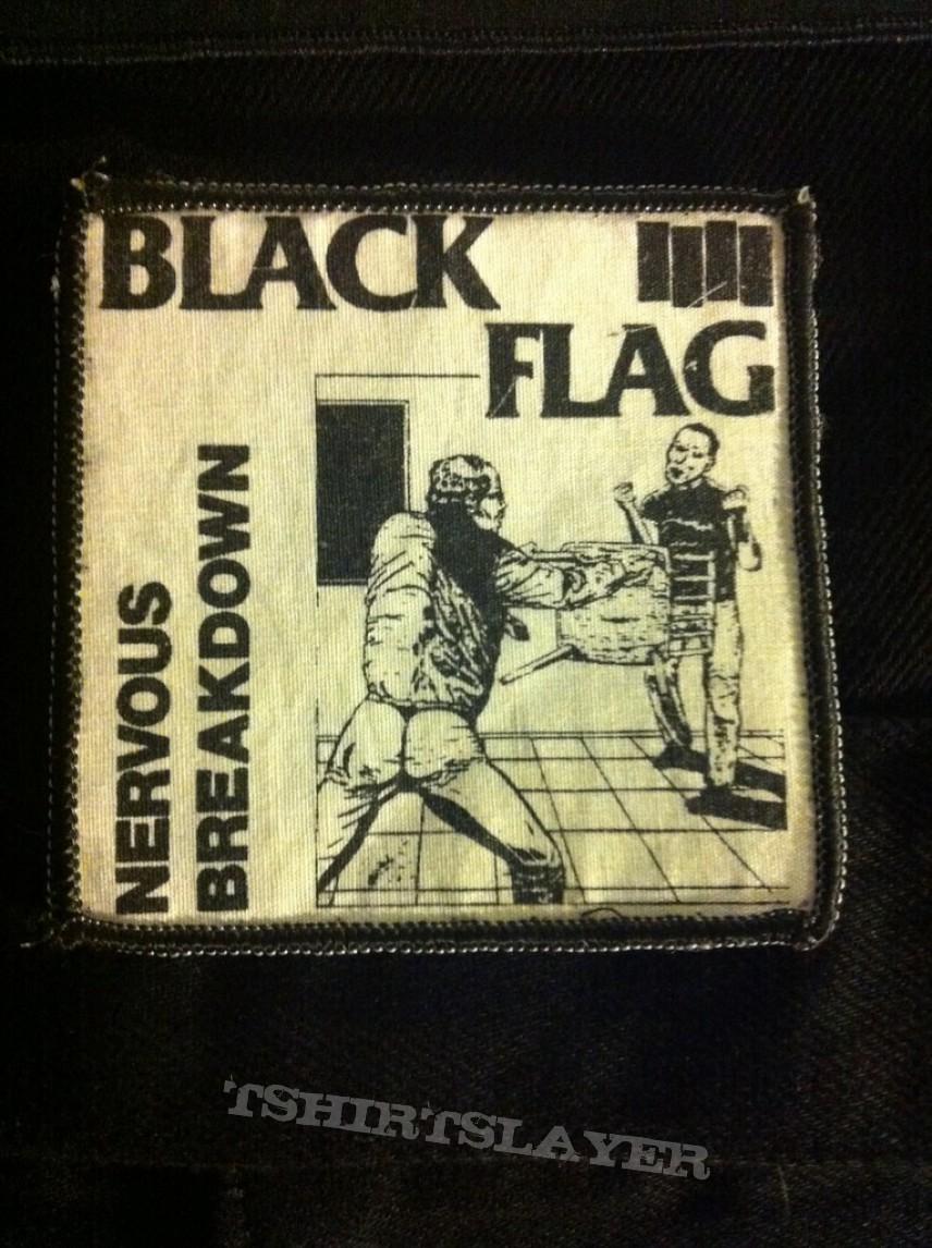 44f948e92 Black Flag  quot Nervous Breakdown quot  patch