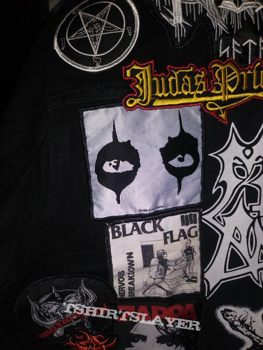 Black battle jacket revised