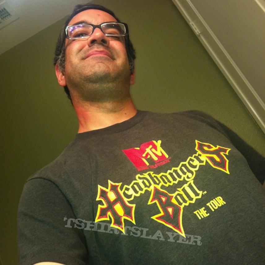 MTV's Headbanger's Ball tour shirt. 1989
