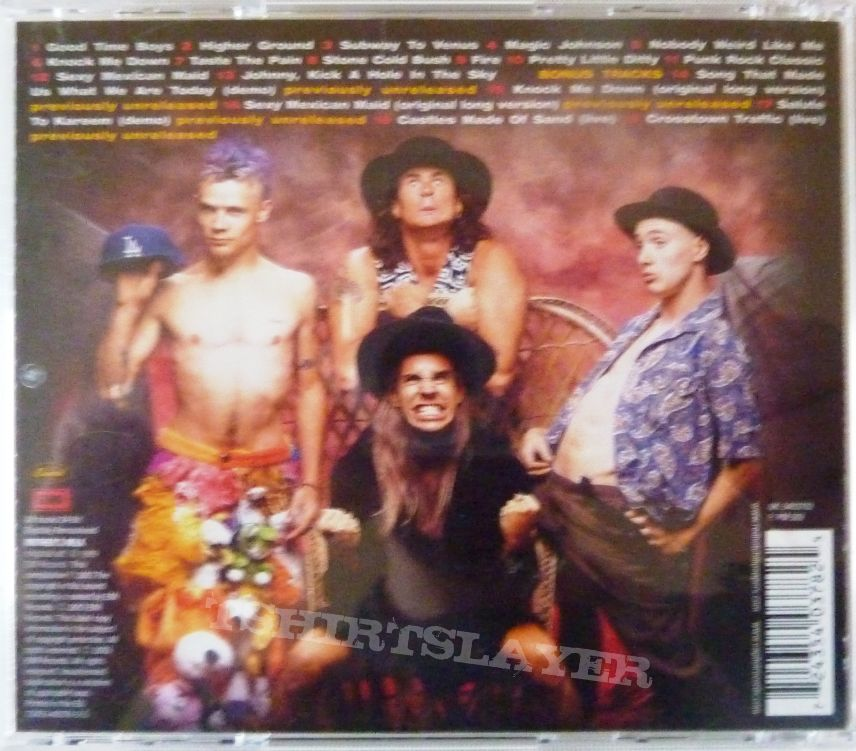 Red Hot Chili Peppers ‎– Mother's Milk - 72435-40378-2-5