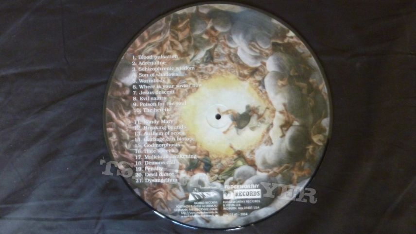 Blood  ‎– Dysangeliumlimited edition picture disc
