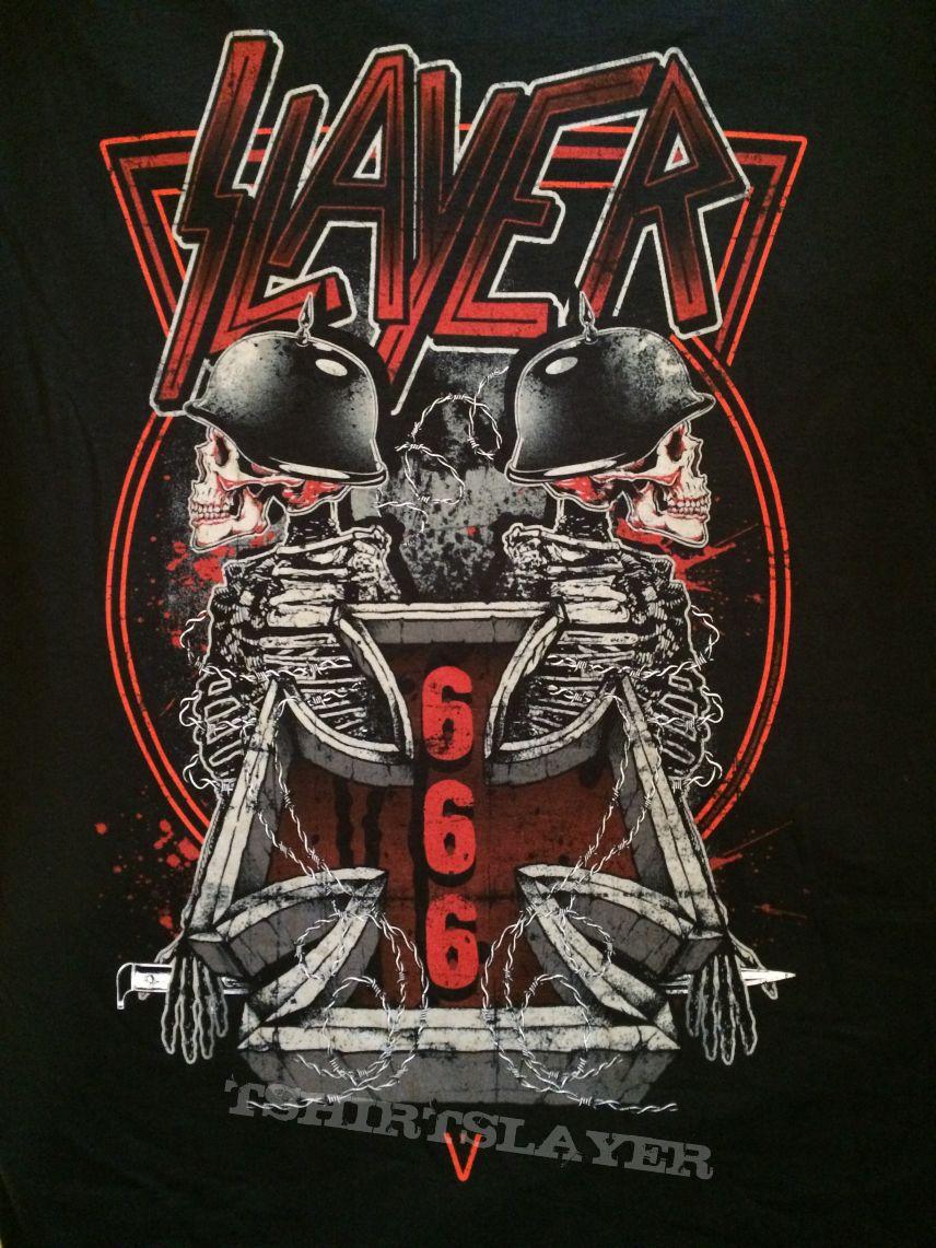 Slayer  Tour Shirt