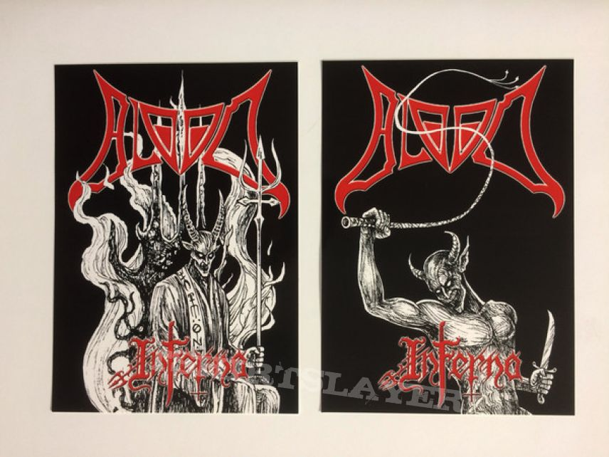 Blood  – Inferno : All Media, Limited Edition, Numbered, Gatefold