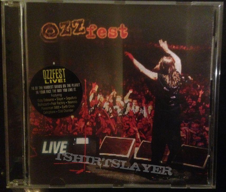 The Ozzfest Live cd
