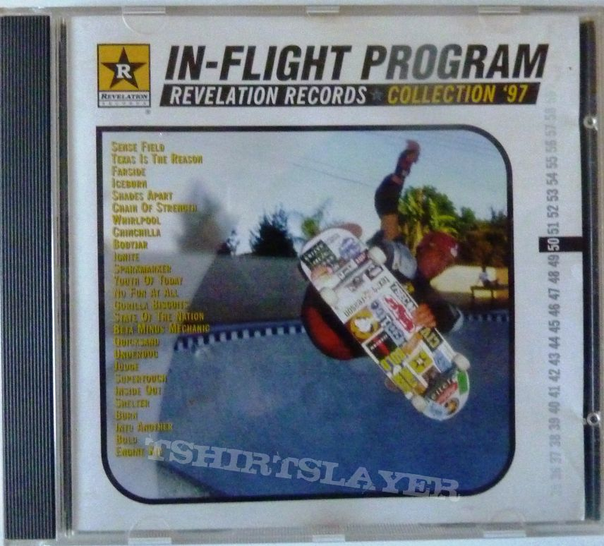 Various ‎– In-Flight Program - Revelation Records Collection '97