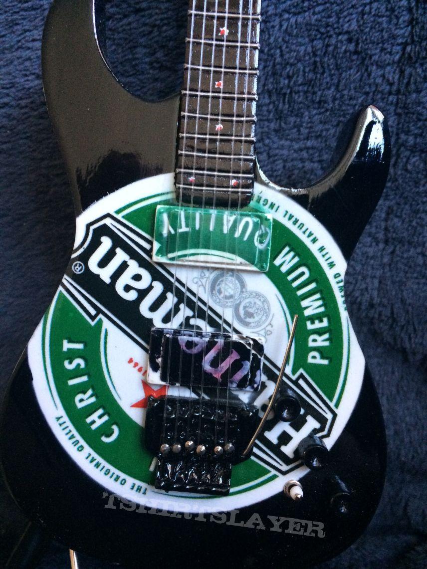 Slayer Jeff Hanneman Mini Guitar Esp Ltd Jh 600