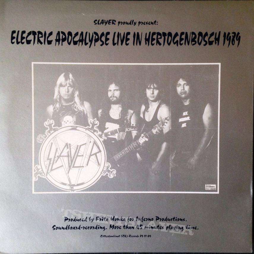 Slayer – Hell Raiser bootleg on blue vinyl/silver-blue