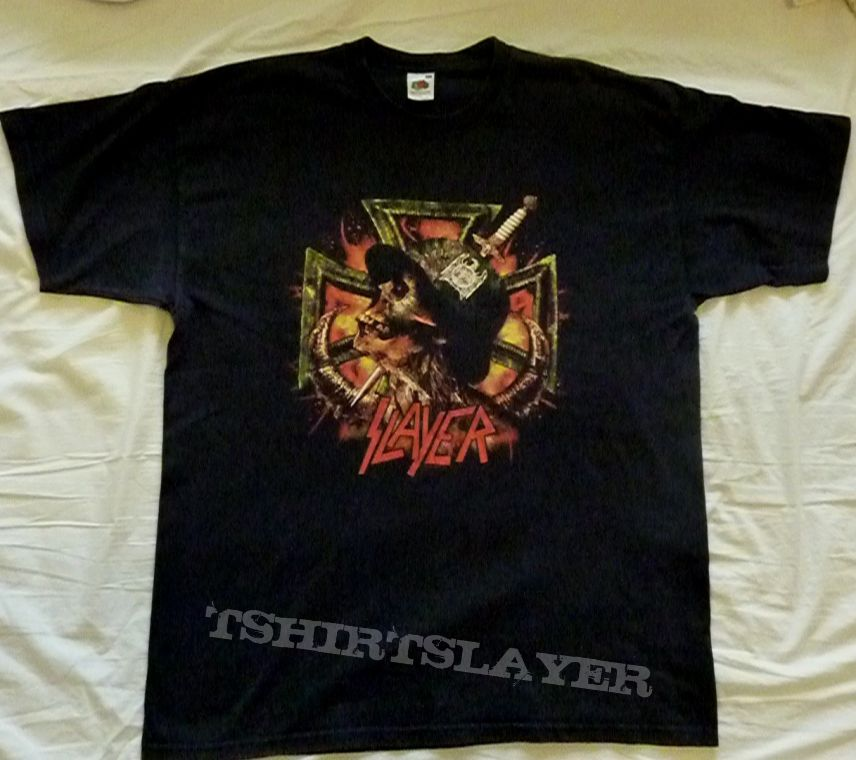 Slayer Wehrmacht Tour Shirt 2004 Tshirtslayer Tshirt And