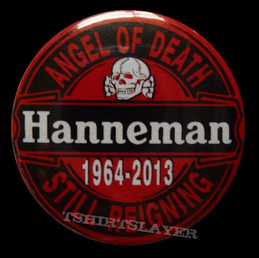 slayer jeff hanneman tribute pinn/button 2014