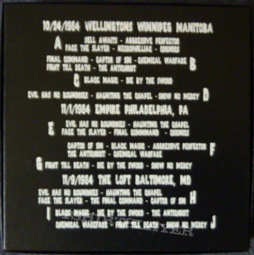 Slayer – 1984 Whore Box Set 250 pieces made | TShirtSlayer