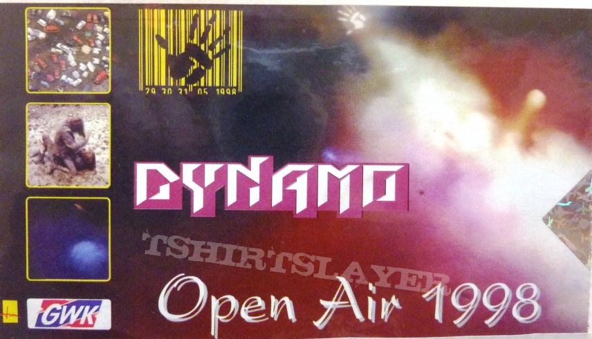 DYNAMO OPEN AIR 1998 25 Ta Life, 7 Zuma 7, Agnostic Front, Atrocity, Battery, Better Than a Thousand, Bewitched, Blind Guardian, Bloodlet, Brotherhood Foundation & Hardcore All Stars, Cathedral, Coal Chamber, Cold, Congress, Covenant, Death, Deftones, Dim