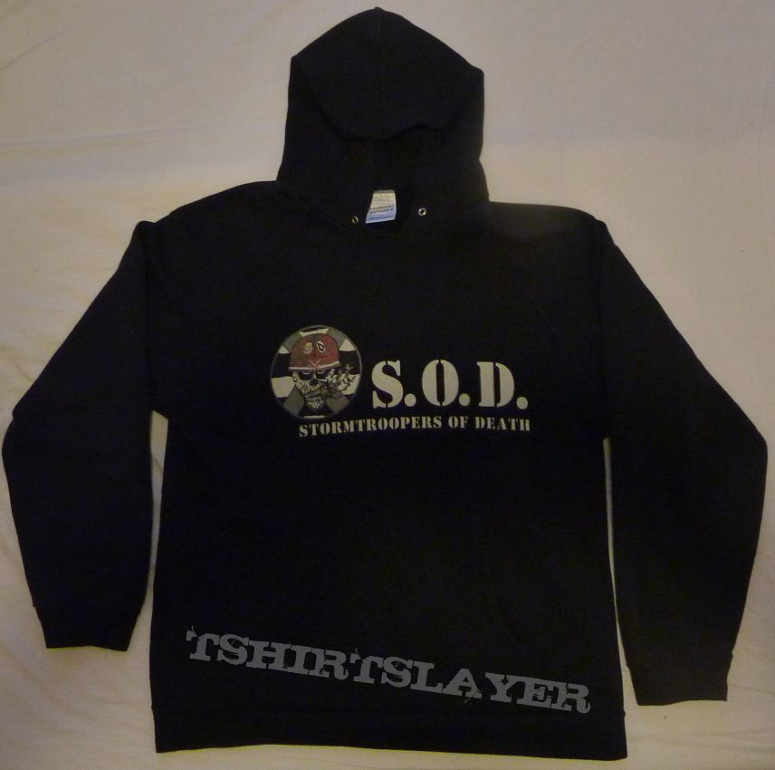 S.O.D  (Stormtroopers Of Death) hoodie DYNAMO CLUB/OPEN AIR festival 1999