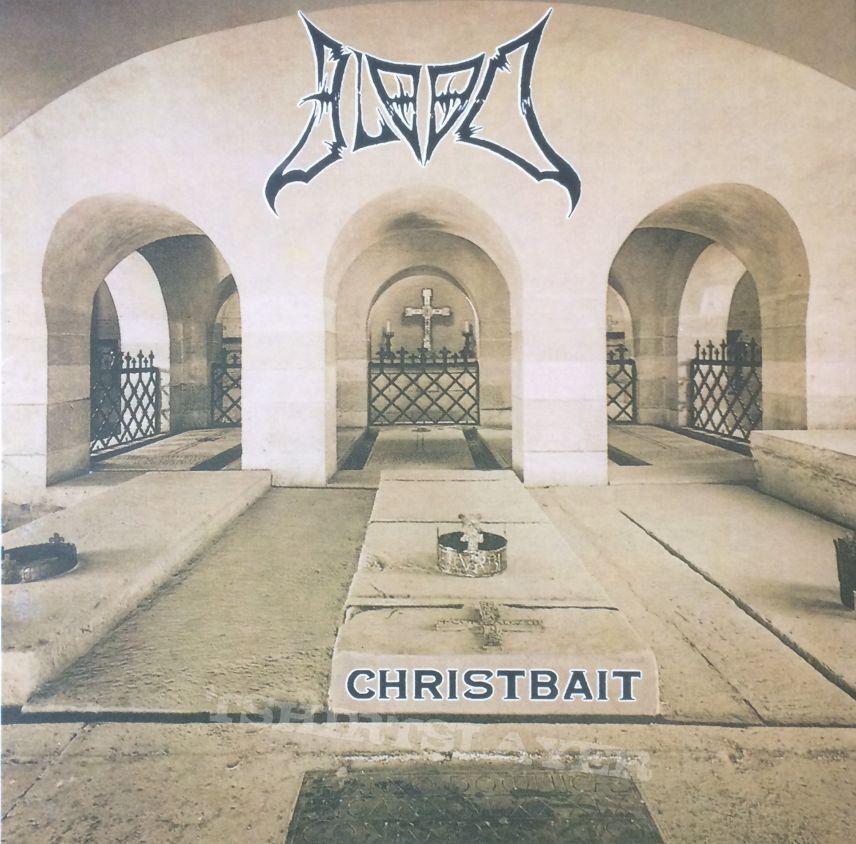 Blood– Christbait   black vinyl Rotten Roll Rex – RRR 060, Final Gate Records – FGR 018
