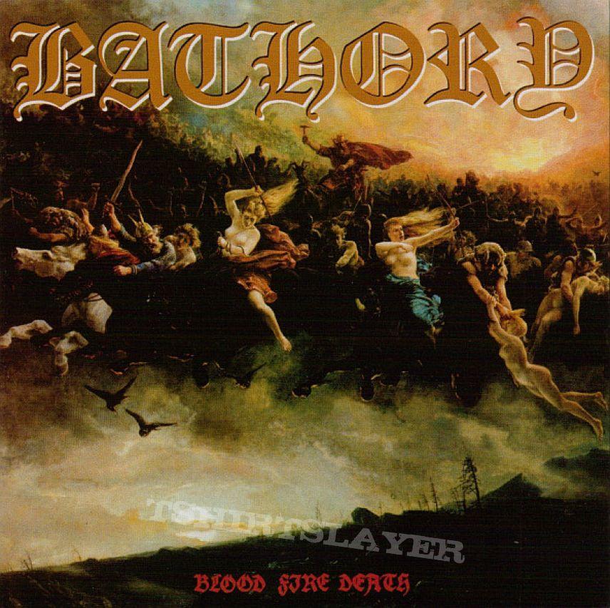 Bathory – Blood Fire Death Black Mark Production – BMCD666-4