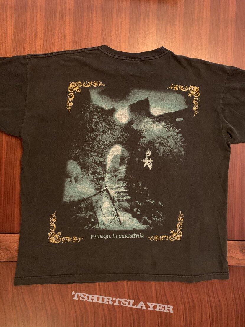 """Cradle Of Filth """"Funeral In Carpathia"""" T-Shirt"""