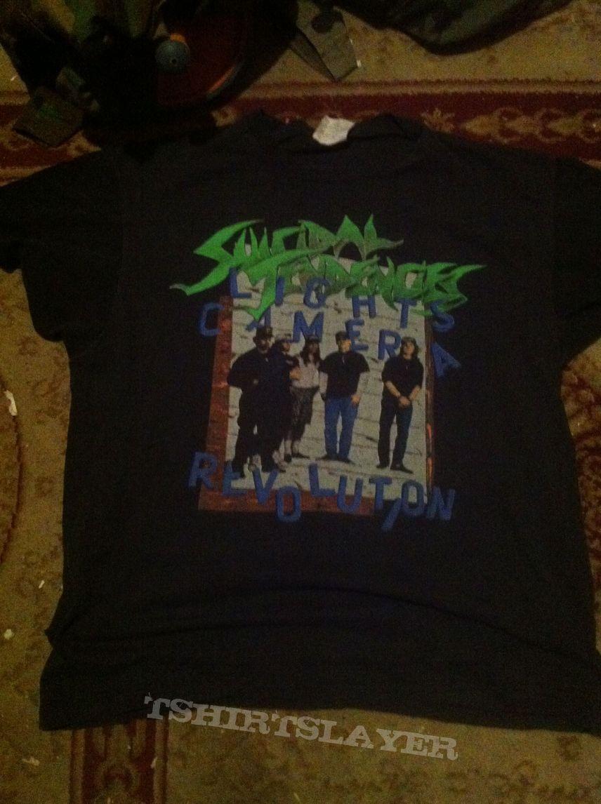 suicidal tendencies tour shirt