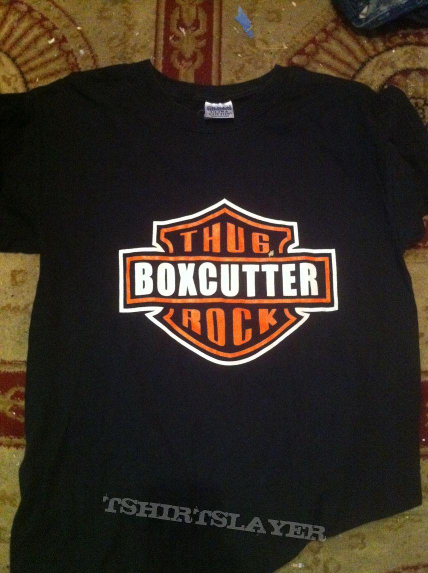 boxcutter HD logo tee