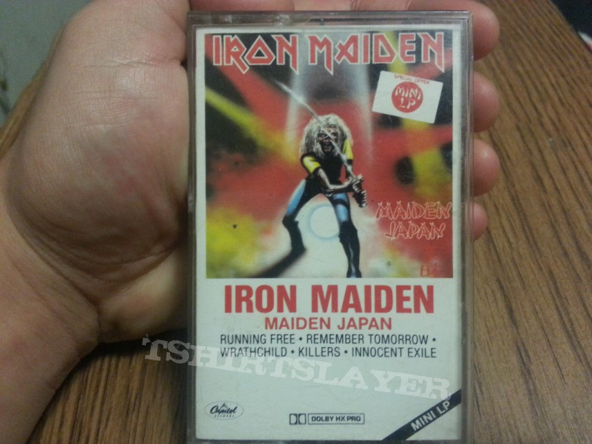 Iron Maiden Mini L.P for sale