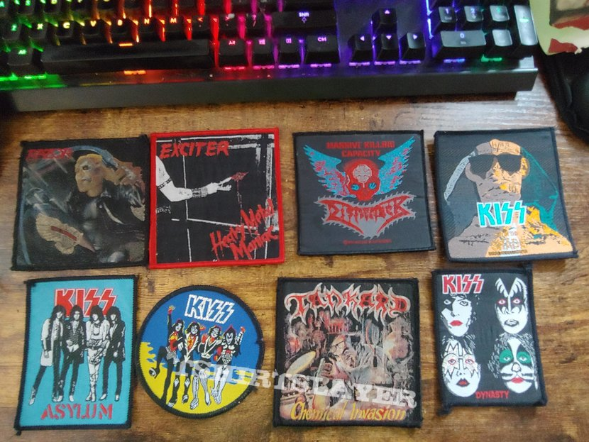 vintage / boot legs / old patches