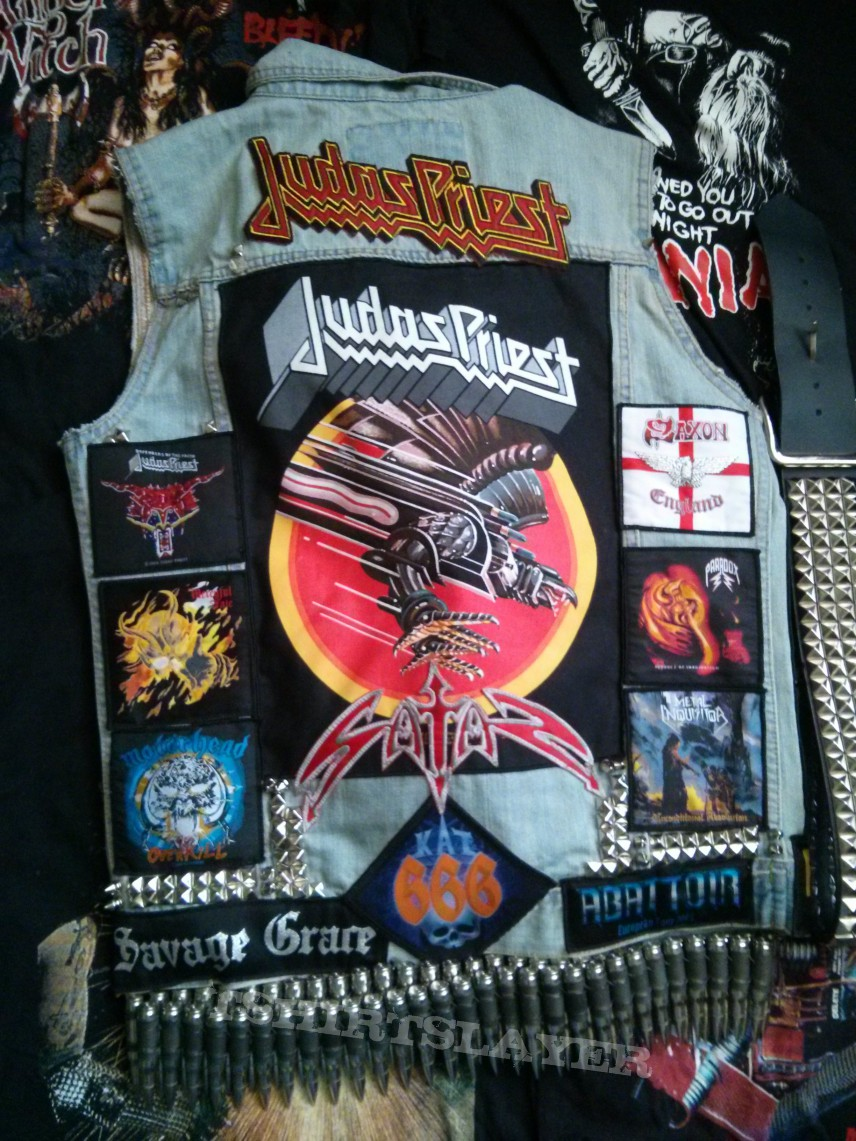 Battle Jacket Kutte V1 1 Tshirtslayer Tshirt And
