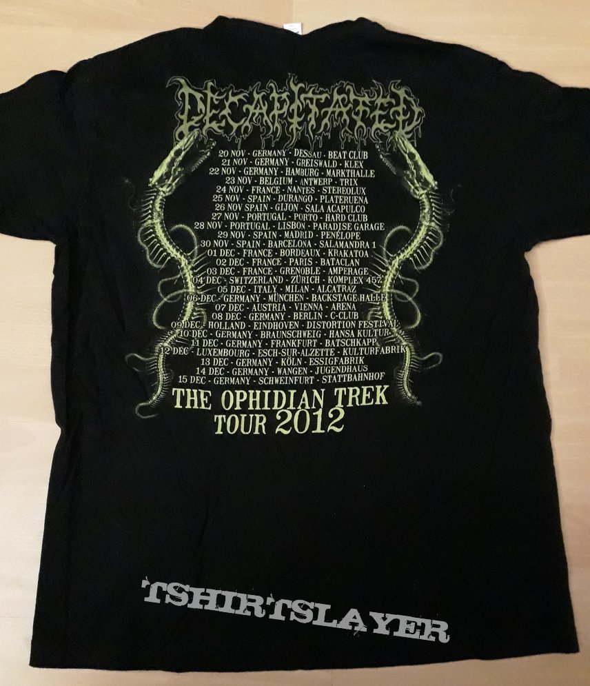 Decapitated - The Ophidian Trek Tour 2012 TS