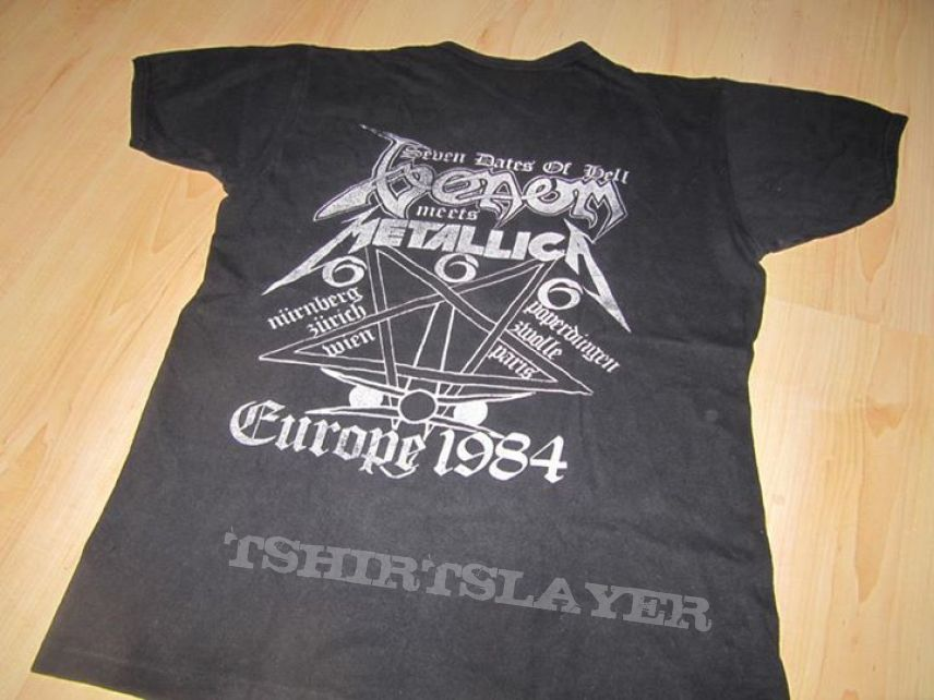Venom/Metallica - 7 dates of hell / Black Metal Holocaust 1984