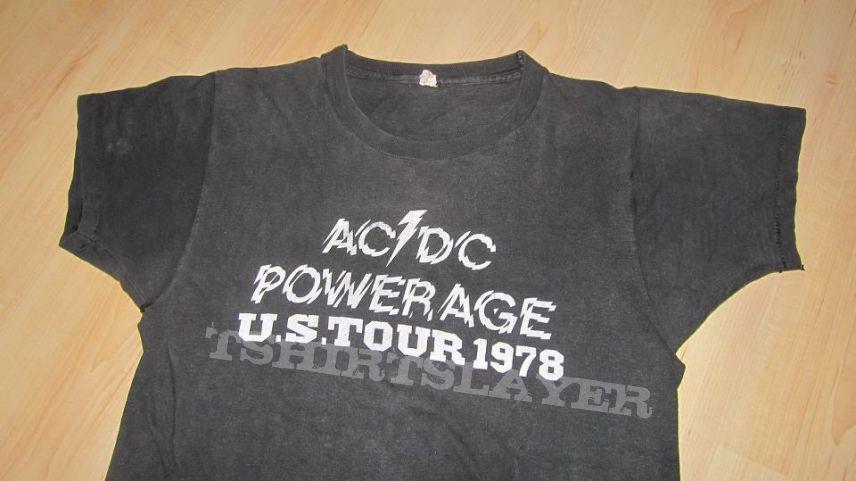 AC/DC Powerage US Tour 1978