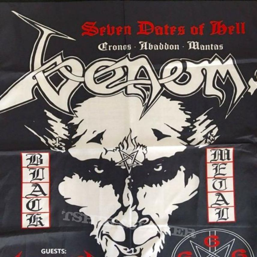 VENOM/METALLICA Seven Dates Of Hell
