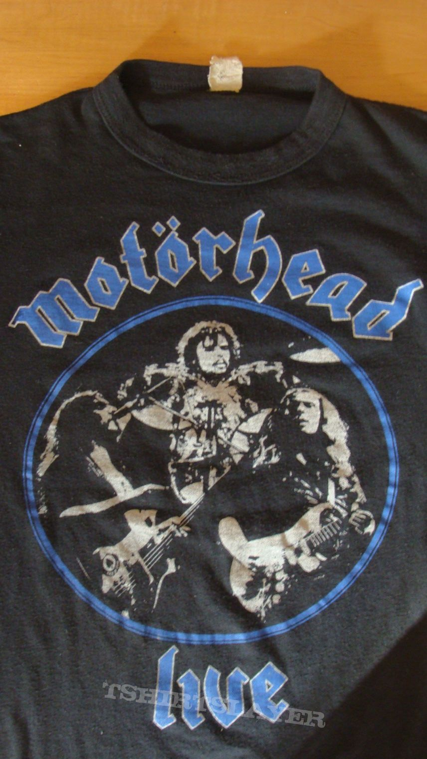 vintage mot rhead 1981 t shirt tshirtslayer tshirt and