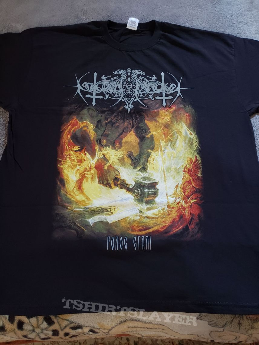 Nokturnal Mortum - The Voice of Steel XL t-shirt