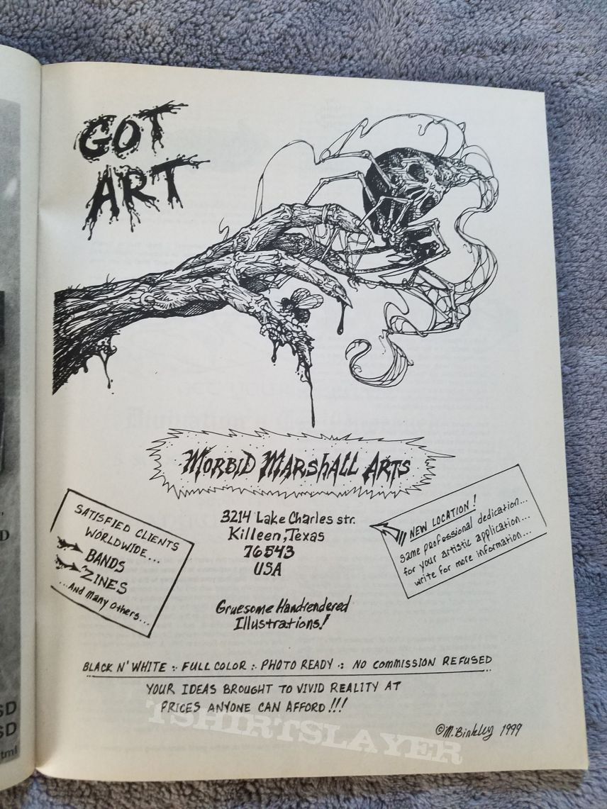 Final issue of Brutalized fanzine.