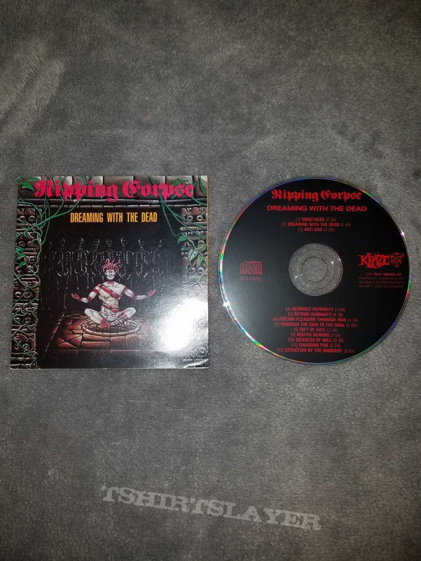 Ripping Corpse - Dreaming with the Dead CD