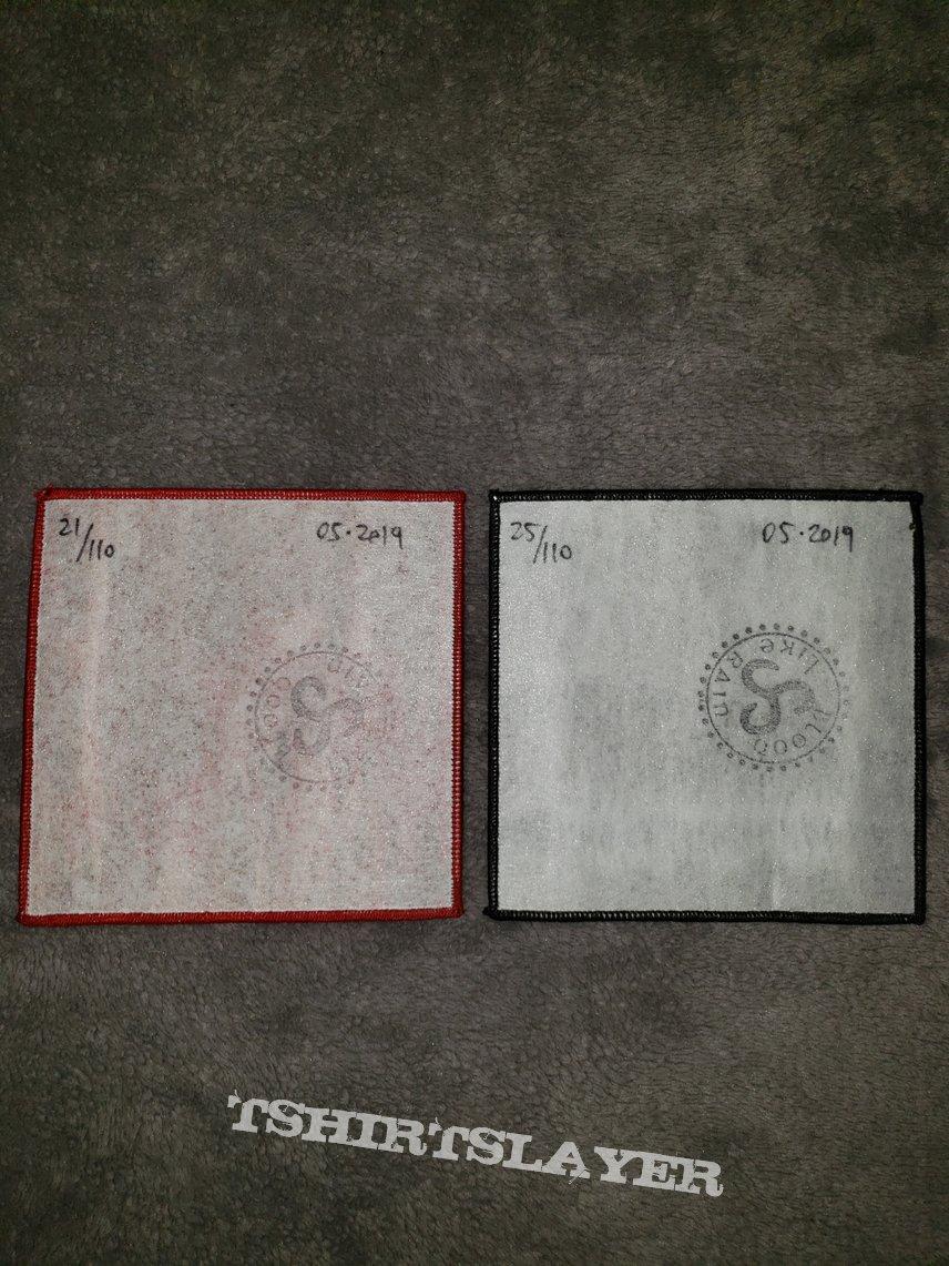 Bathory - Under the Sign of the Black Mark & Burzum - Det som engang Var woven patches