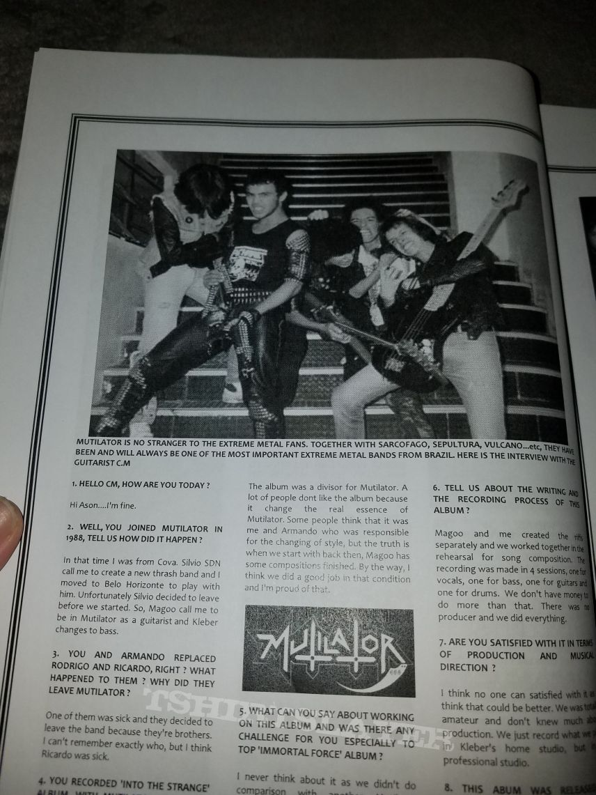 Issue number three of Malaysia's Ultimate Darkness zine.