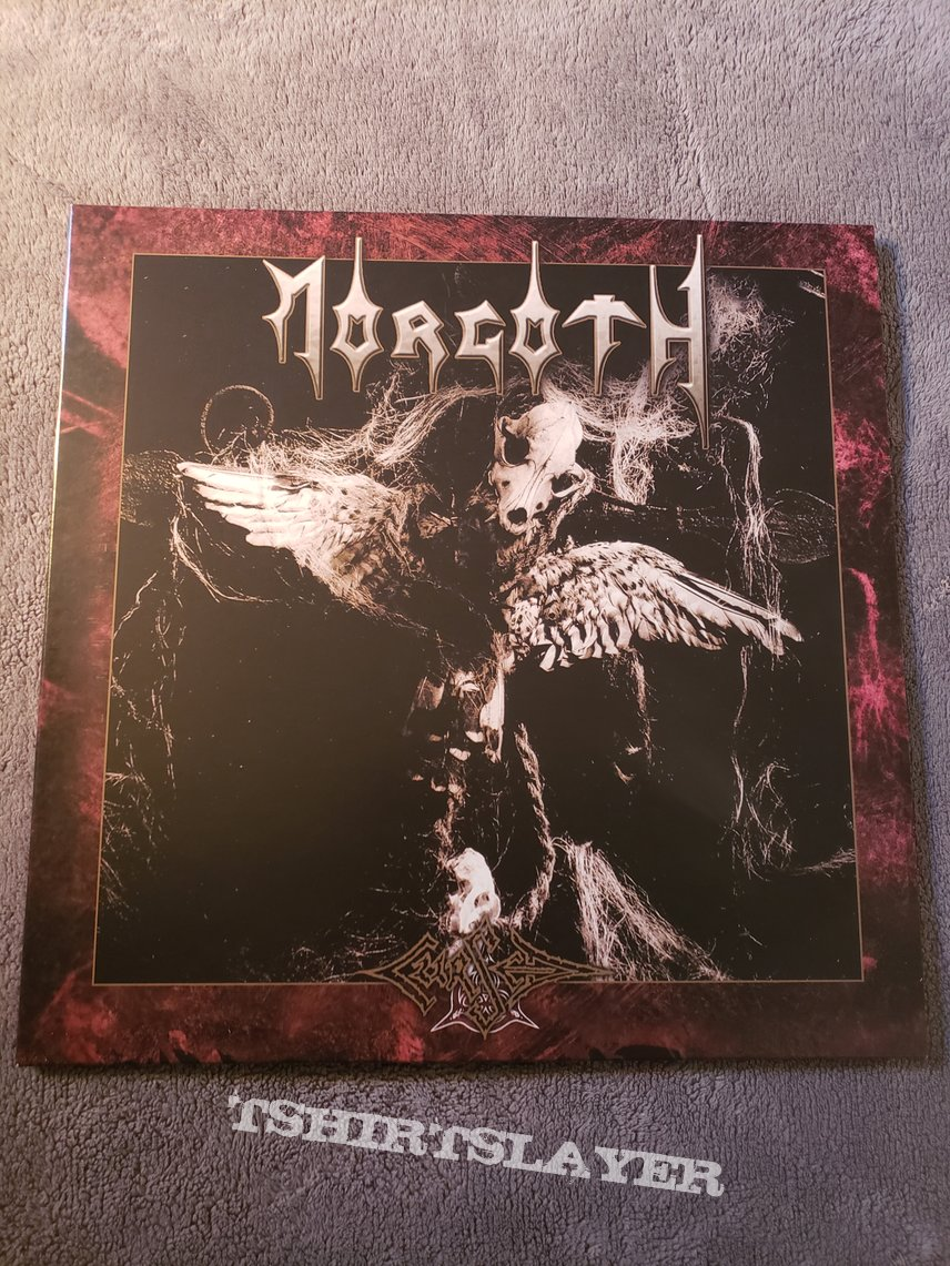 Vinyl reissues of Morgoth's Resurrection Absurd/The Eternal Fall & Cursed