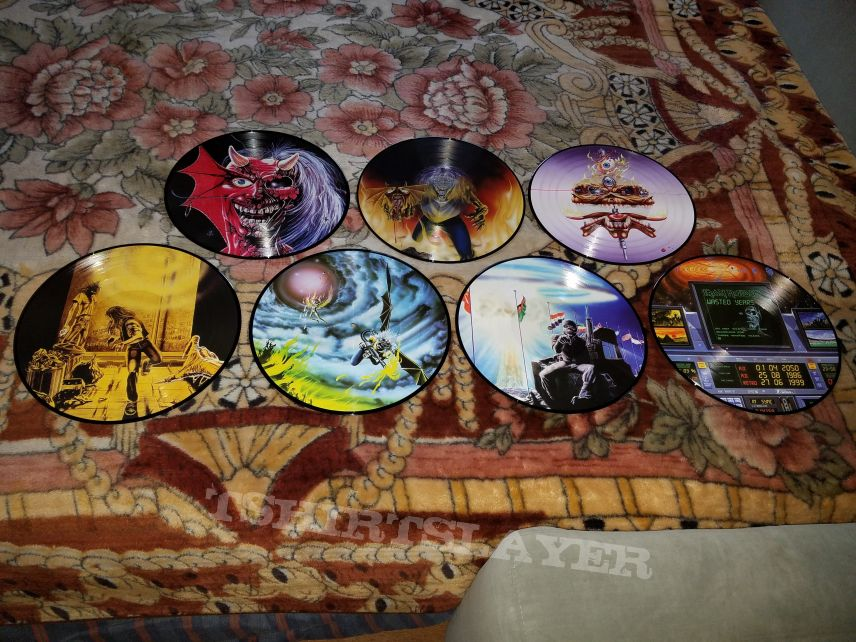 My pic disc collection so far.