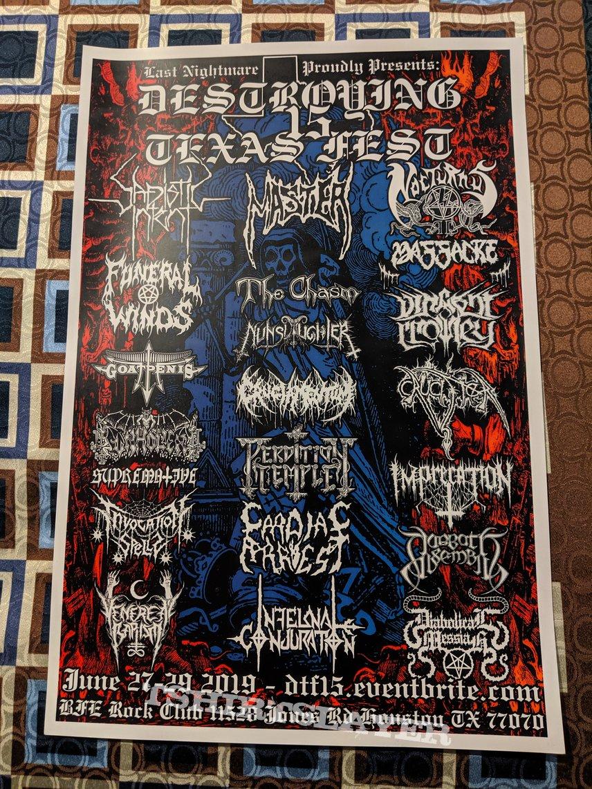 Tour & festival posters
