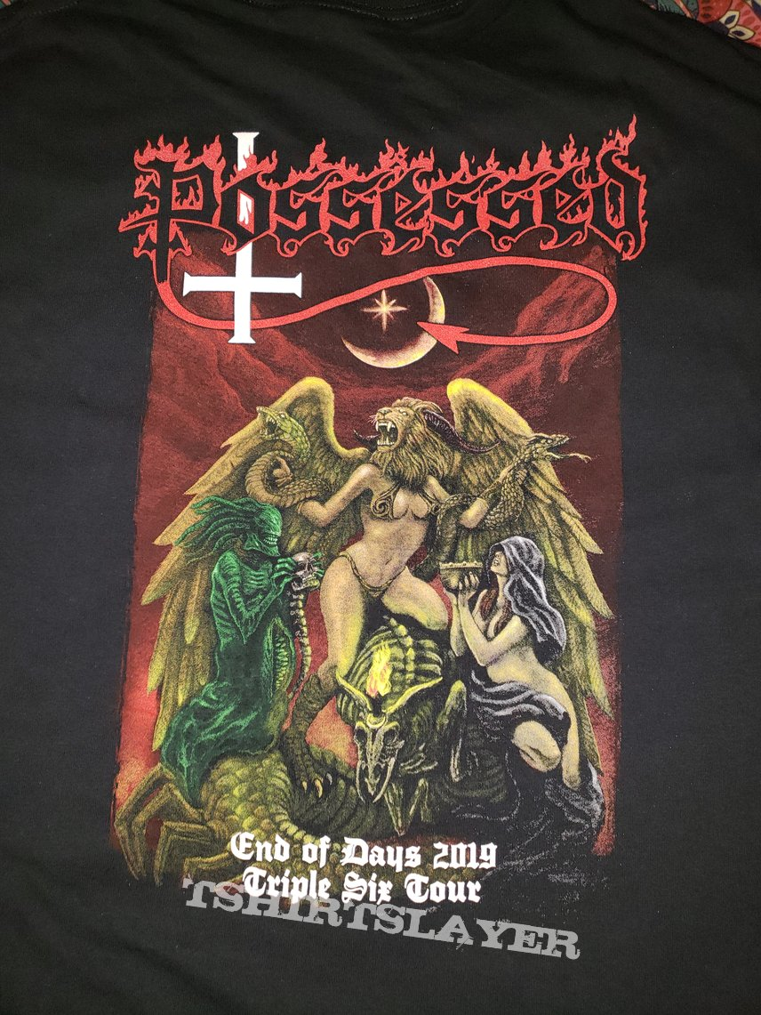 XXL Possessed - End of Days 2019: The Triple Six Tour t-shirt