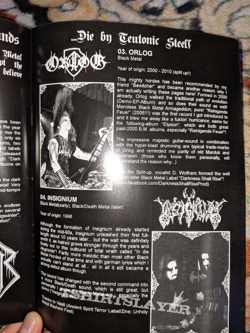Bestial Desecration: Blood upon the Fields of Triumph - A guide through the German Black Metal Underground