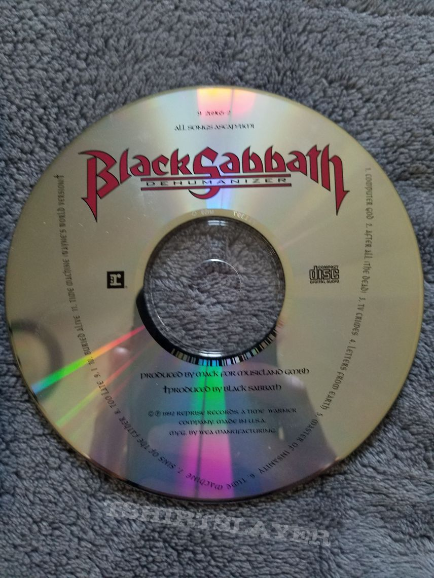 Black Sabbath - Dehumanizer jewel case CD.