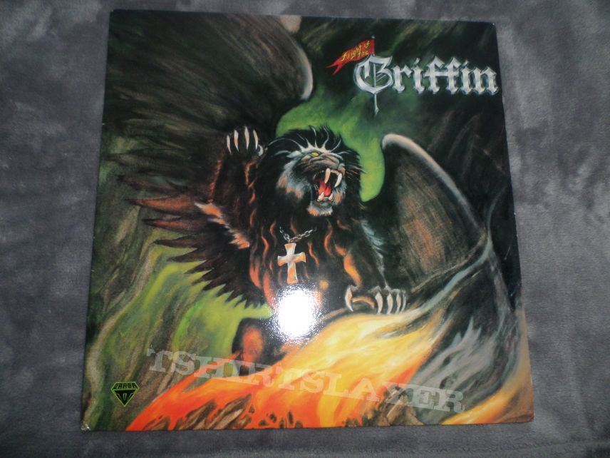 "Flight of the Griffin original 12"" black vinyl."