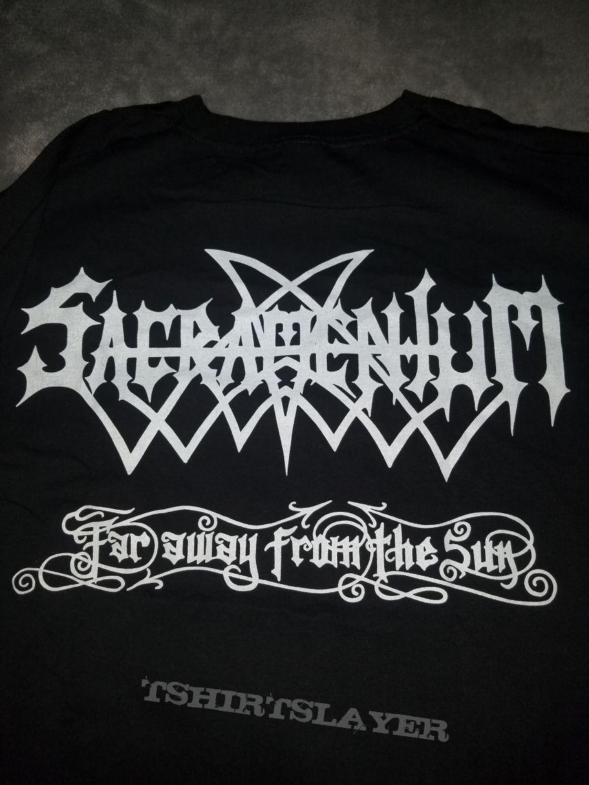 XL Sacramentum - Far away from the Sun t-shirt.