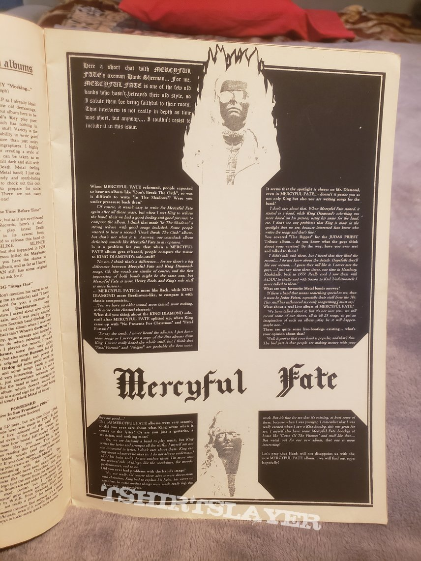 Heresy Mag #3 & Tales of the Macabre #5