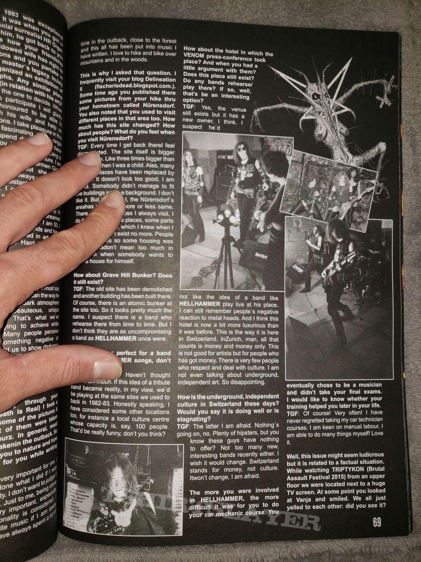 Old School Metal Maniac magazine issue #2
