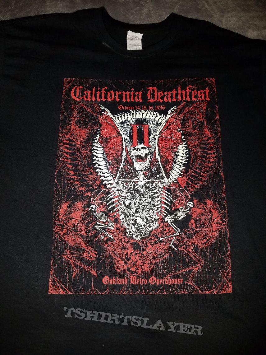 CDFII t-shirt.