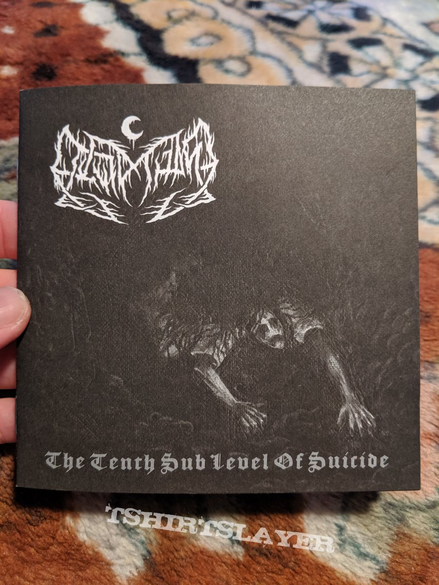 Leviathan - The tenth sub level of Suicide digipack CD