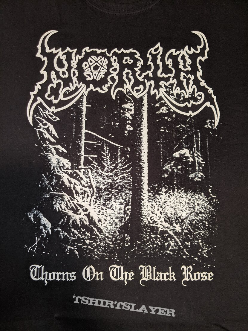 North - Thorns on the Black Rose t-shirt
